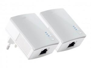 Power Line Starter Kit für Ethernet bis zu 500MBit/s