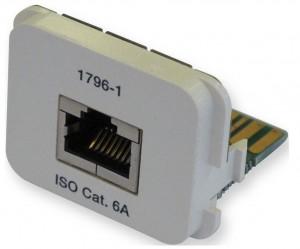 AMP ACOplus Cat. 6A  Adaptereinsatz für alle Dienste
