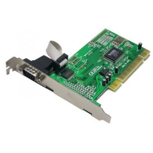 Schnittstellenkarte, 1 x seriell, PCI 32 Bit, UART 16C550 (16FIFOs), 9-pol. Sub-D Anschluss