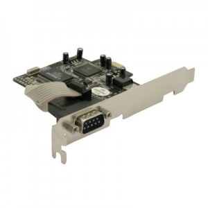 Schnittstellenkarte 1-fach seriell,  PCI-Express