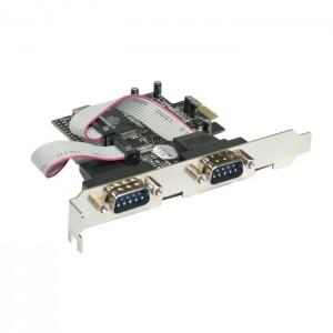 Schnittstellenkarte 2-fach seriell,  PCI-Express
