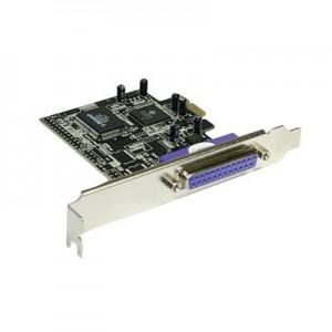 Schnittstellenkarte 1-fach parallel,  ECP/EPP, PCI Express
