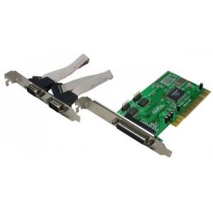 Schnittstellenkarte 32 Bit PCI Bus, 2-fach seriell, 1-fach parallel EPP/ECP