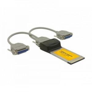 Schnittstellenkarte 2-fach parallel, PCMCIA Bus, ECP/EPP