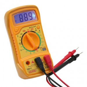 Digitalmultimeter mit 3,5 stelligem Display