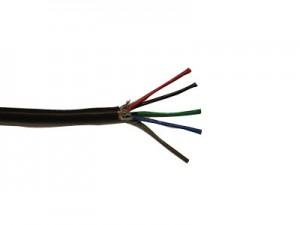 VGA Leitung, 5 x Koax, doppelt geschirmt, schwarz