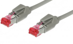 Cat. 7 Cross-over Kabel mit 2 x RJ45 Hirosesteckern