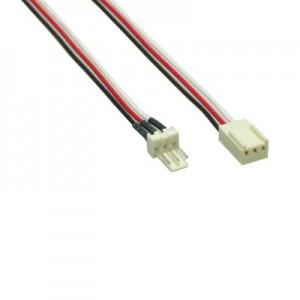 Lüfter Verlängerungskabel, 3-pol. Molex Stecker / 3-pol. Molex Buchse, 60 cm