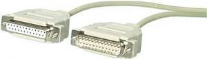 Serielles Druckerkabel, 25-pol. Sub-D Buchse / 25-pol. Sub-D Stecker, 5 m ** nicht mehr lieferbar **