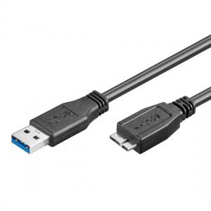 USB 3.0 Anschlusskabel Stecker A an Stecker Micro B