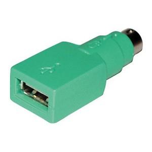 PS2 USB Adapter, Typ A Buchse / 6-pol. Stecker