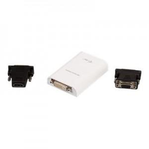 USB 2.0 zu DVI/HDMI Adapter, Full HD 1080p bis 1920x1080  externe Grafikkarte zum Anschluss an den USB Port
