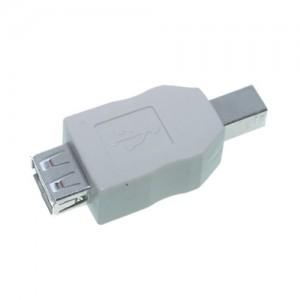 USB Adapter, Typ A Buchse / Typ B Stecker