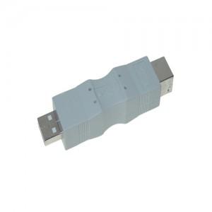 USB Adapter, Typ A Stecker / Typ B Buchse