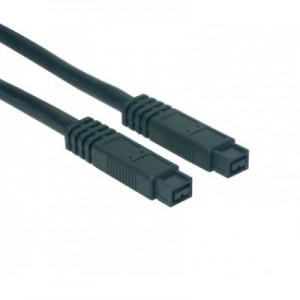 FireWire 800 Anschlusskabel IEEE1394b, 9-pol. Stecker / 9-pol. Stecker