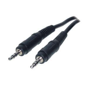 Audiokabel, 2 x 3,5 mm Klinkenstecker Stereo