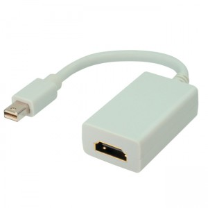 Displayport Adapter, mini Displayport Stecker an HDMI Buchse