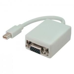 Displayport Adapter, mini Displayport Stecker an VGA Buchse