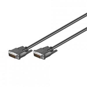DVI-I Monitorkabel, Dual Link, DVI 24+5 Stecker/Stecker
