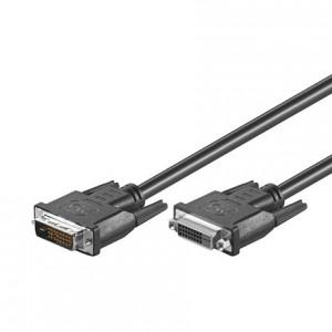 DVI Verlängerungskabel, Dual Link, DVI 24+1 Stecker/Buchse