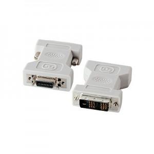 DVI Adapter, 20-pol. HP Centronics Buchse / DVI 18+1 Stecker