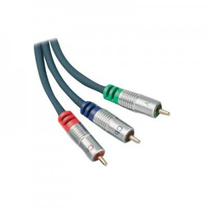 YUV Komponenten Kabel, 3 x Cinch Stecker