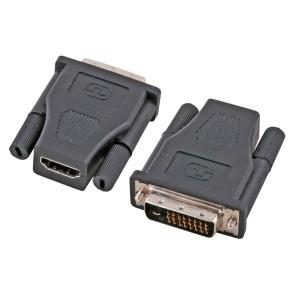 HDMI / DVI Adapter, HDMI Buchse / DVI 24+1 Stecker