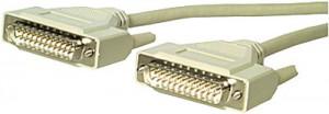 Verbindungskabel, 25-pol. Sub-D Stecker/Stecker