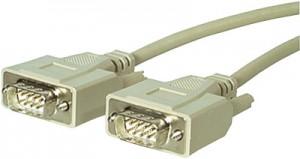 Verbindungskabel, 9-pol. Sub-D Stecker/Stecker