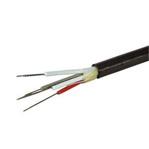 LWL Universalkabel, mit Nagetierschutz, 8-fasrig, halogenfrei, 8G 50/125 µm