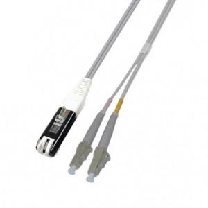 LWL Duplex Patchkabel OM2, VF45/LC, 50/125 µm