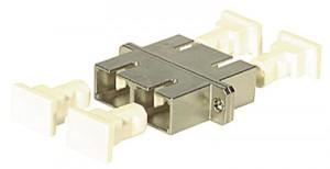 LWL Kupplung, SC/SC-duplex, Keramik, singlemode + multimode