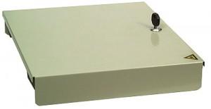 Verteilerplatte für 8 x ST (für Kompakt Spleißbox)