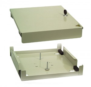Verteilerplatte für 4 x SC-duplex (für Kompakt Spleißbox)