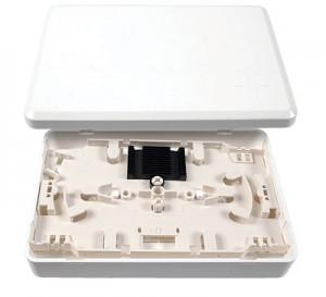 LWL Micro Spleißverteiler mit Spleißkassette