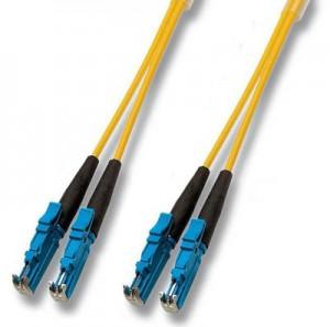 LWL Duplex Patchkabel, E2000/E2000, 9/125 µm