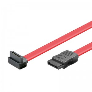 S-ATA 150 Kabel, einseitig abgewinkelt, 0,75 m