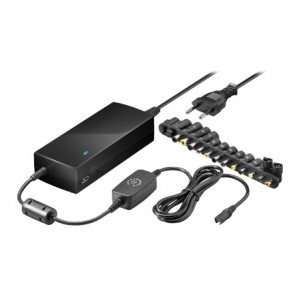 Universal Notebooknetzteil, High Power, bis 6000 mA, mit 14 Adapterstecker inkl. Dell Stecker