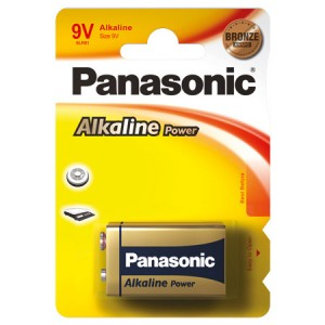 Batterie 9 Volt Block, XP, Panasonic