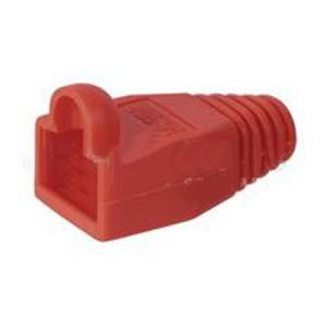 Knickschutztülle für RJ45 Stecker, rot