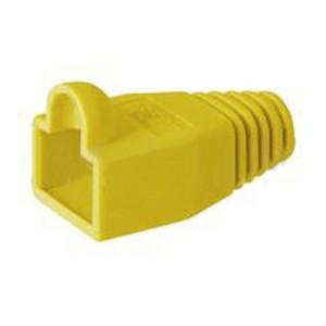 Knickschutztülle für RJ45 Stecker, gelb