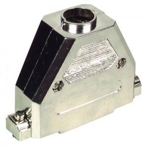 25-pol. Sub-D Haube, Kunststoff metallisiert