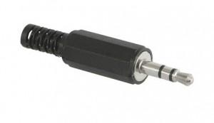 Klinkenstecker Stereo 3-pol. 2,5 mm