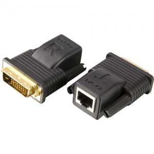 DVI Line Extender, über ein Cat. 5 Kabel