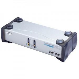 DVI - USB - Audio CPU Umschalter, automatisch für 2 PC's