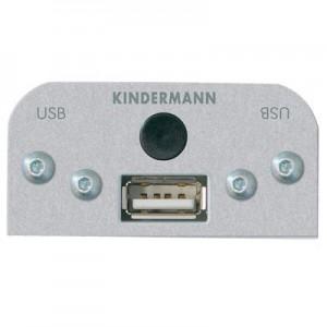 Multimedia USB Modul, 1 x USB Typ A Buchse mit Kabel