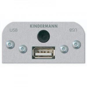 Multimedia USB Modul, 1 x USB Typ A / Typ B  Buchse mit Kabel