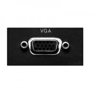 Multimedia VGA Modul für EVOline Port / Dock, 1x 15-pol. HD Sub-D Buchse, inkl. 3 m Anschlusskabel