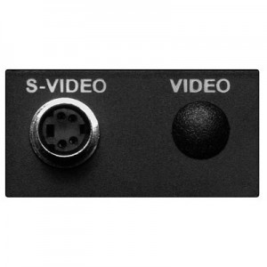 Multimedia Video Modul für EVOline Port / Dock, 1 x 4-pol. Mini-DIN Buchse, inkl. 3 m Anschlusskabel