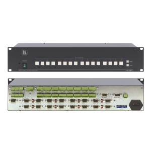 High Performance VGA + Audio Umschalter, 16 Port